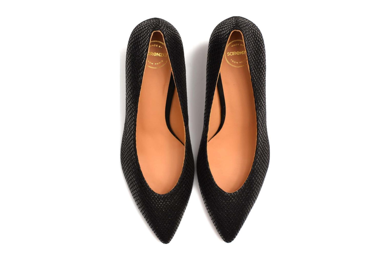Zapatos de tacón Made by SARENZA Glossy Cindy #9 Negro vista de arriba
