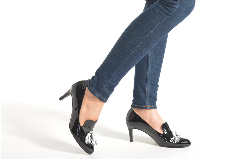 Escarpins Made by SARENZA Notting Heels #12 Noir vue bas / vue portée sac