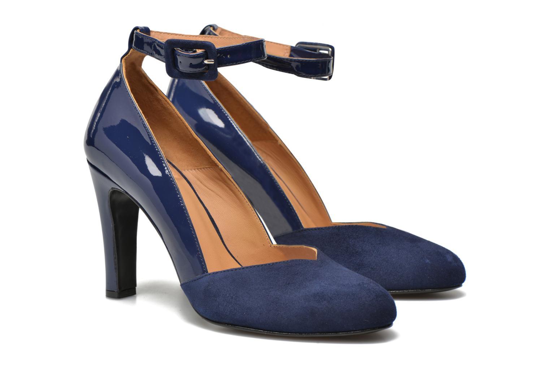 Escarpins Made by SARENZA My Talon Is Rich #5 Bleu vue droite