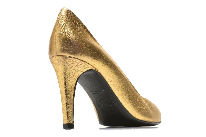 Pumps Made by SARENZA Glossy Cindy #4 gold/bronze schuhe getragen