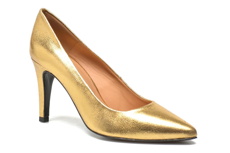 Pumps Made by SARENZA Glossy Cindy #4 gold/bronze ansicht von vorne