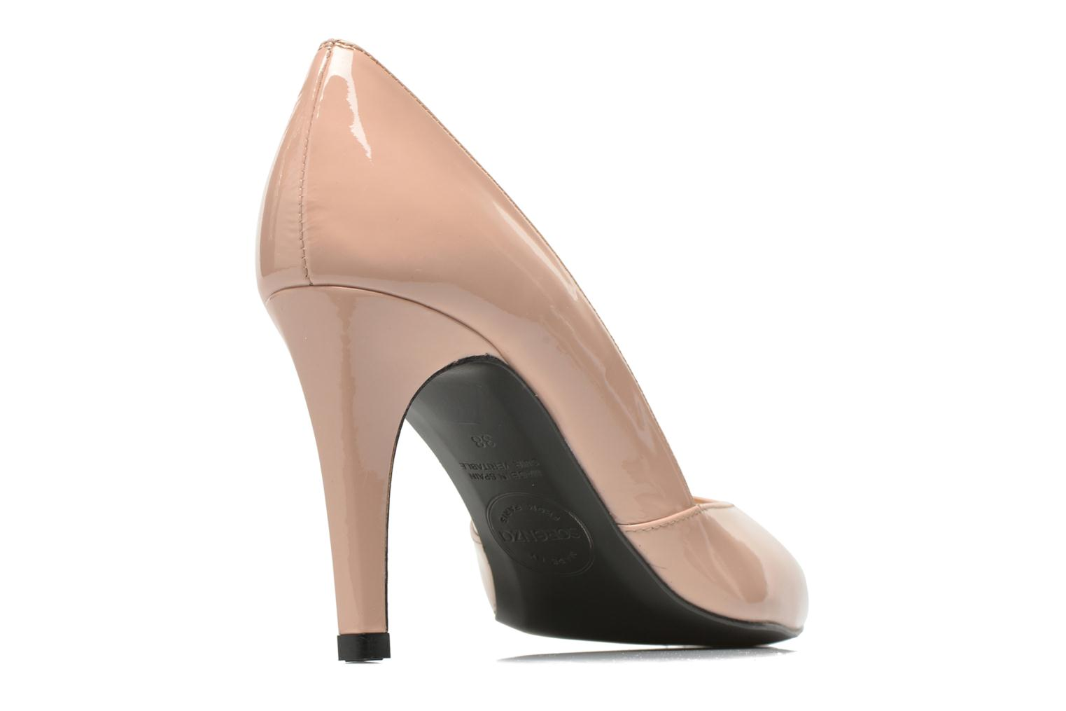 High heels Made by SARENZA Glossy Cindy #11 Beige model view