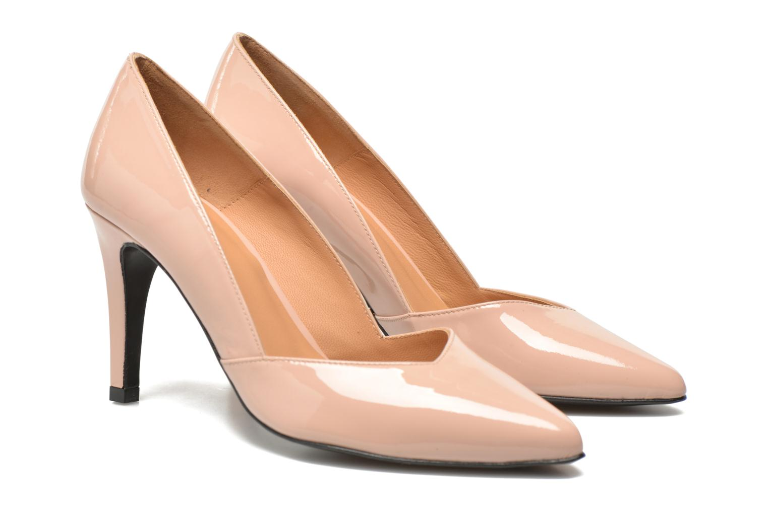 High heels Made by SARENZA Glossy Cindy #11 Beige view from the right