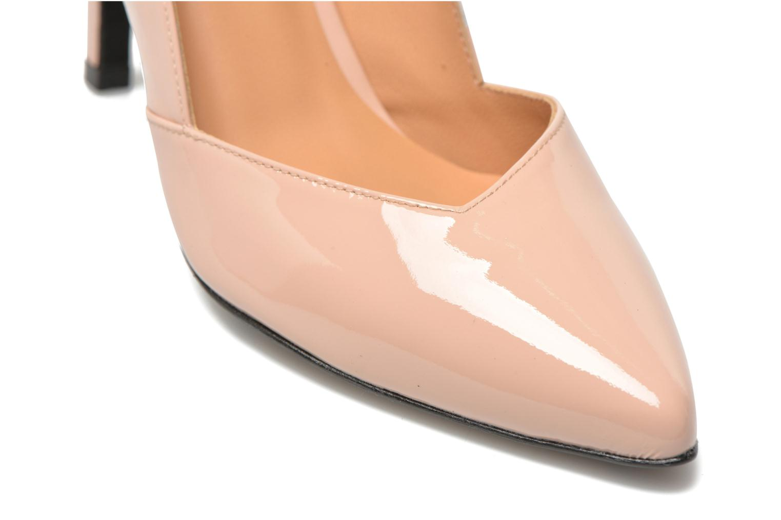 High heels Made by SARENZA Glossy Cindy #11 Beige back view