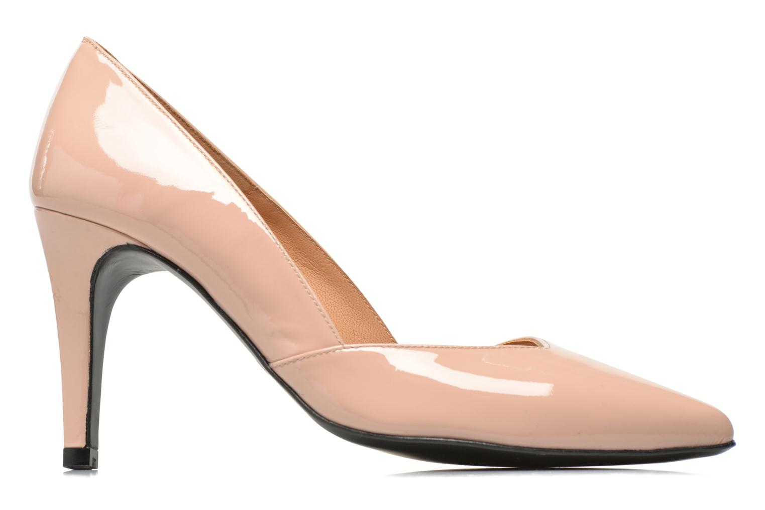 High heels Made by SARENZA Glossy Cindy #11 Beige detailed view/ Pair view