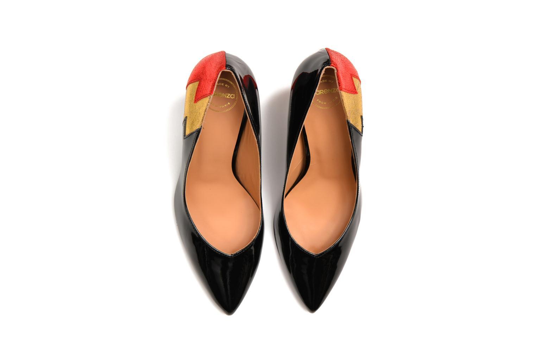 Zapatos de tacón Made by SARENZA Glossy Cindy #3 Multicolor vista de arriba
