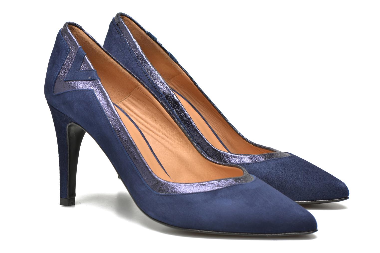Escarpins Made by SARENZA Glossy Cindy #6 Bleu vue droite