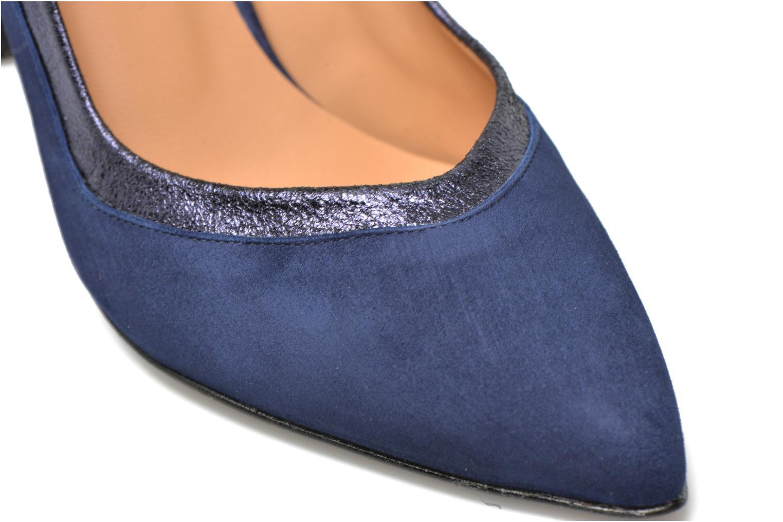 Escarpins Made by SARENZA Glossy Cindy #6 Bleu vue derrière