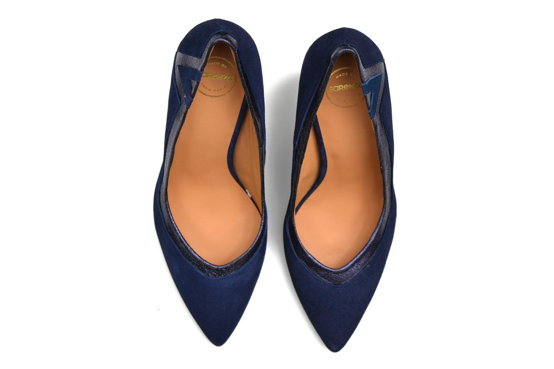 Escarpins Made by SARENZA Glossy Cindy #6 Bleu vue haut