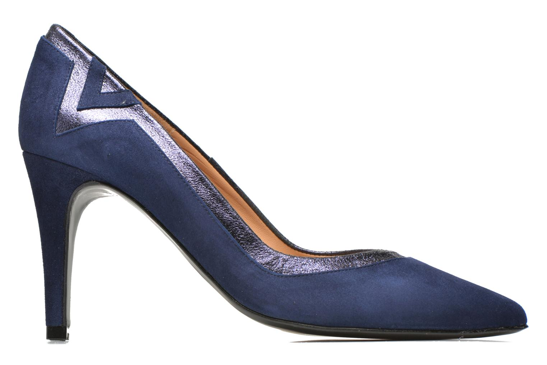 Escarpins Made by SARENZA Glossy Cindy #6 Bleu vue détail/paire