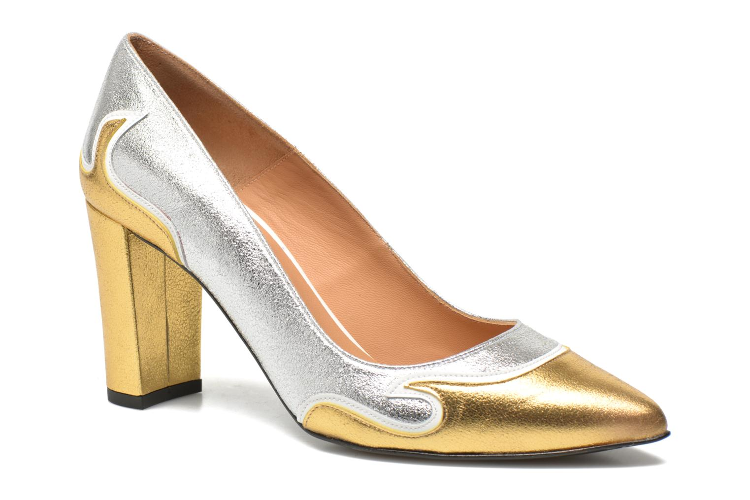 Pumps Made by SARENZA Glossy Cindy #2 gold/bronze ansicht von vorne