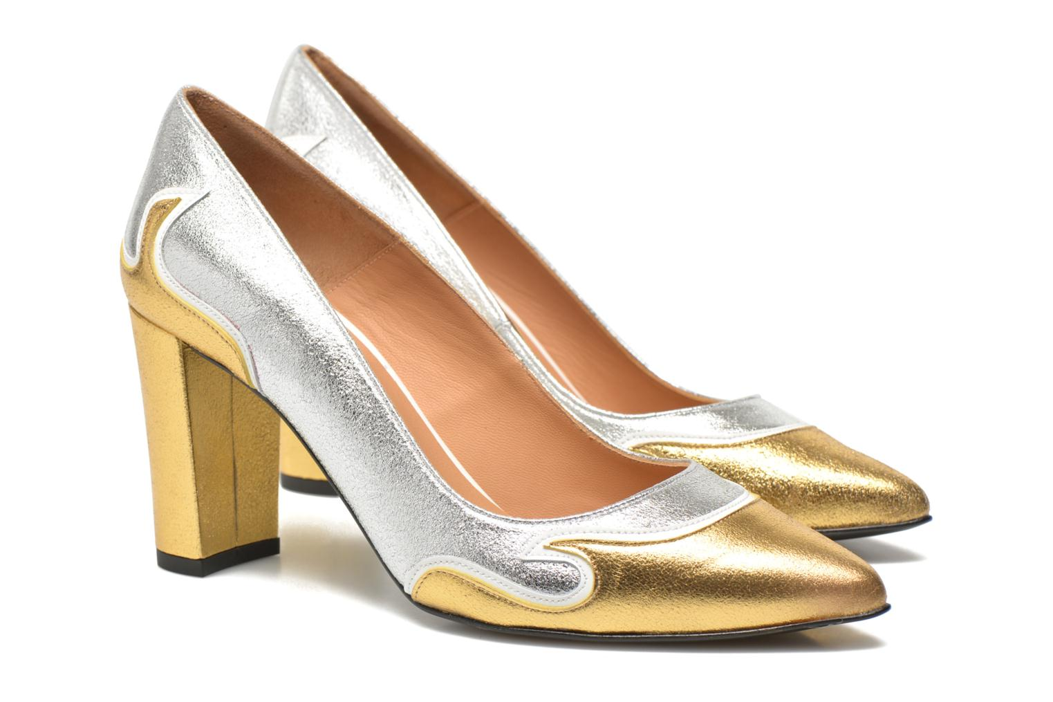 Pumps Made by SARENZA Glossy Cindy #2 gold/bronze ansicht von rechts