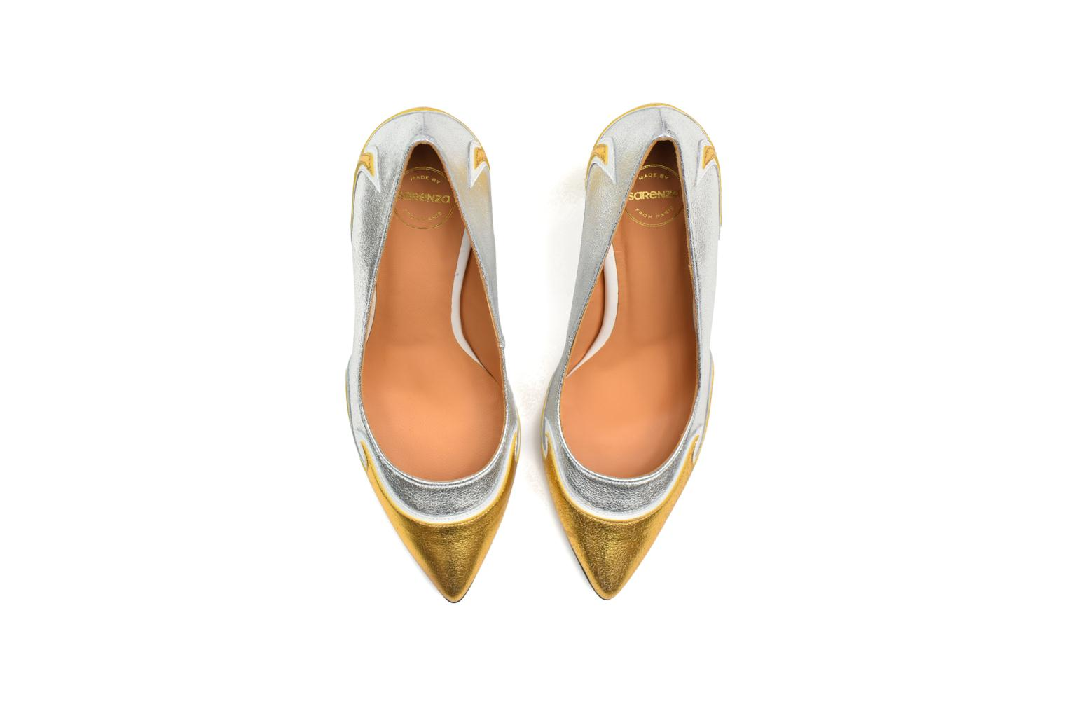 Pumps Made by SARENZA Glossy Cindy #2 gold/bronze ansicht von oben