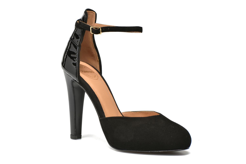 Notting Heels #5 Ante noir + vernis noir