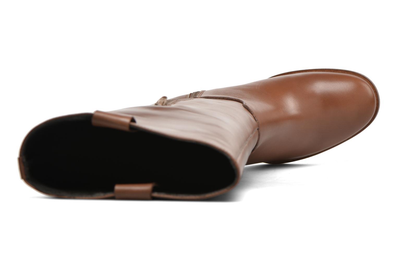 Stiefel Georgia Rose Escargo braun ansicht von links