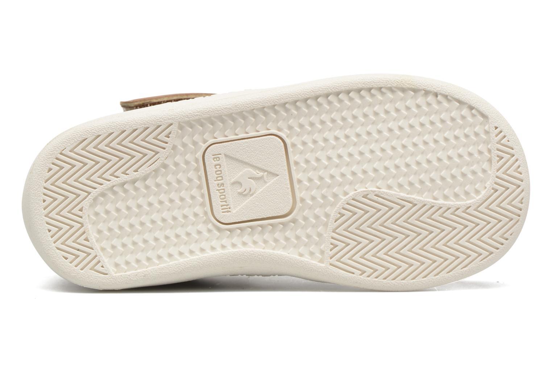 Sneakers Le Coq Sportif Rebond Mid Inf Winter Beige immagine dall'alto