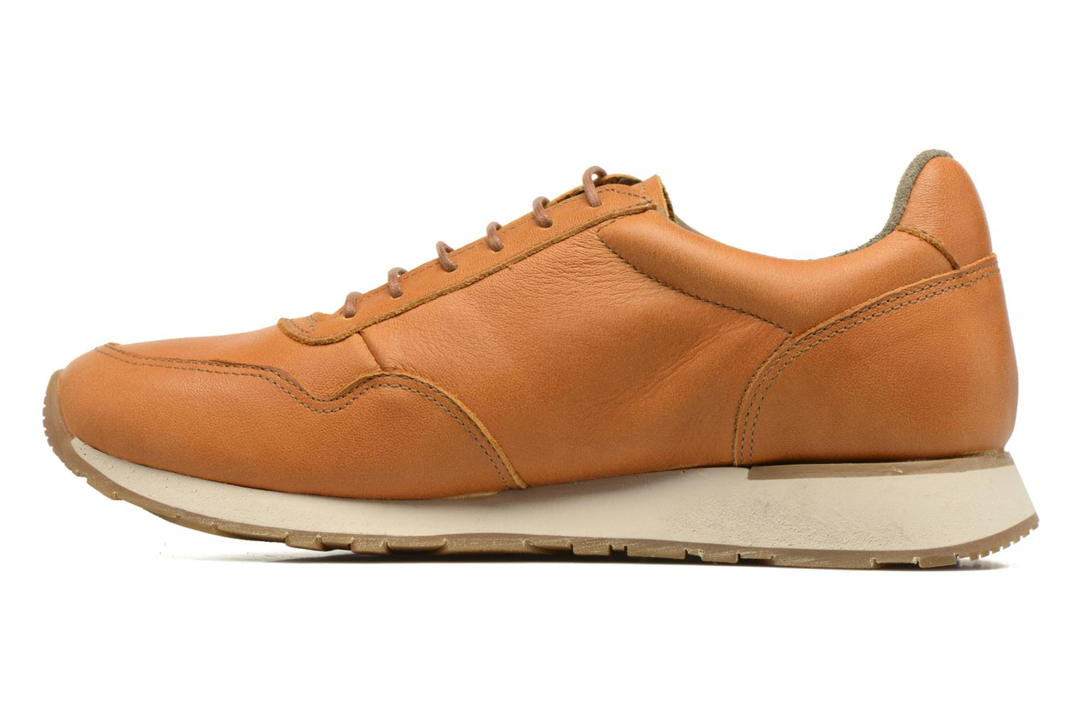 Trainers El Naturalista Walky ND91 W Brown front view