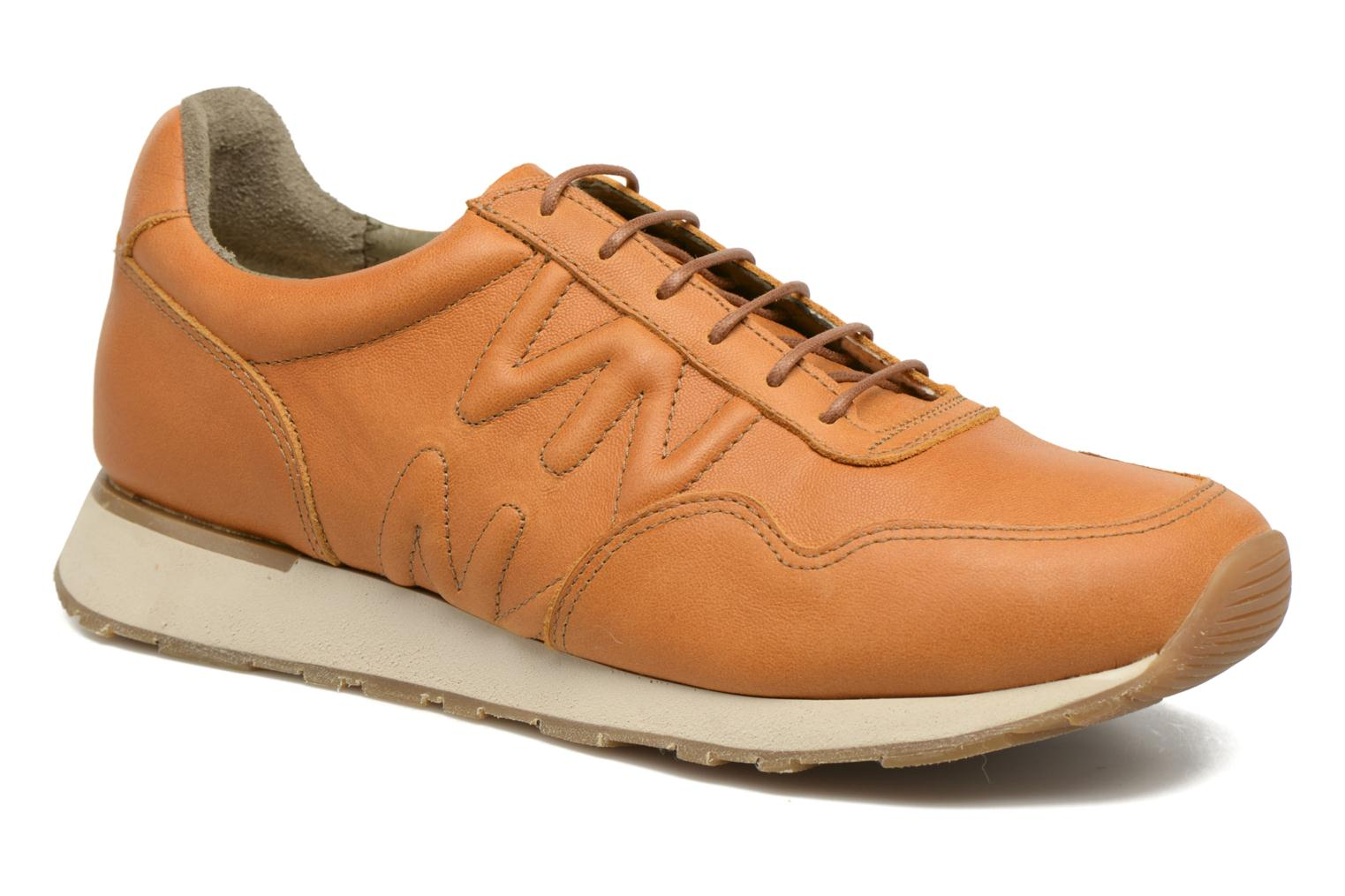 Trainers El Naturalista Walky ND91 W Brown detailed view/ Pair view