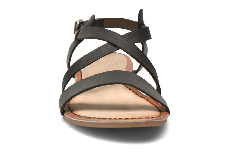 Sandales et nu-pieds Gioseppo Allegri Noir vue portées chaussures