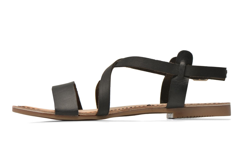 Sandales et nu-pieds Gioseppo Allegri Noir vue face