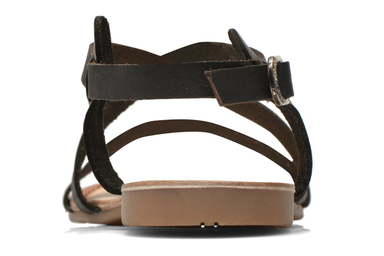 Sandales et nu-pieds Gioseppo Allegri Noir vue droite