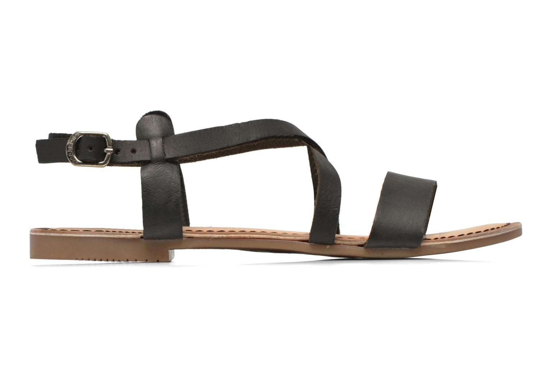 Sandales et nu-pieds Gioseppo Allegri Noir vue derrière