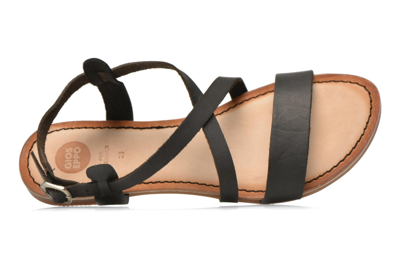 Sandales et nu-pieds Gioseppo Allegri Noir vue gauche