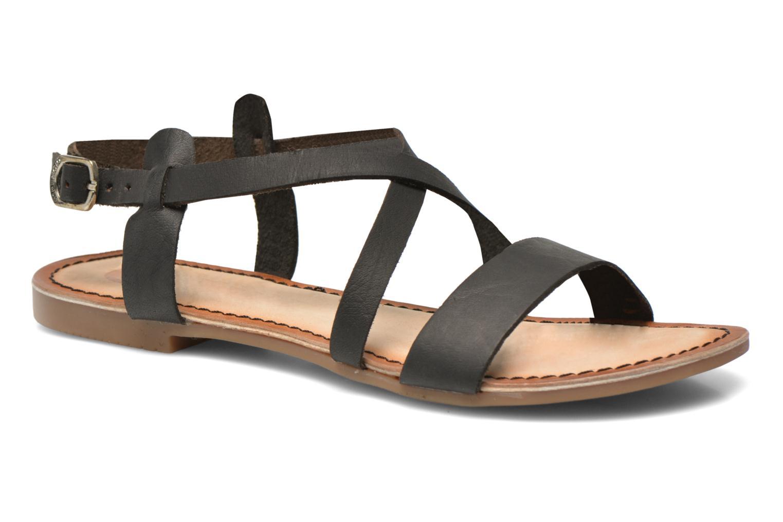 Sandales et nu-pieds Gioseppo Allegri Noir vue détail/paire
