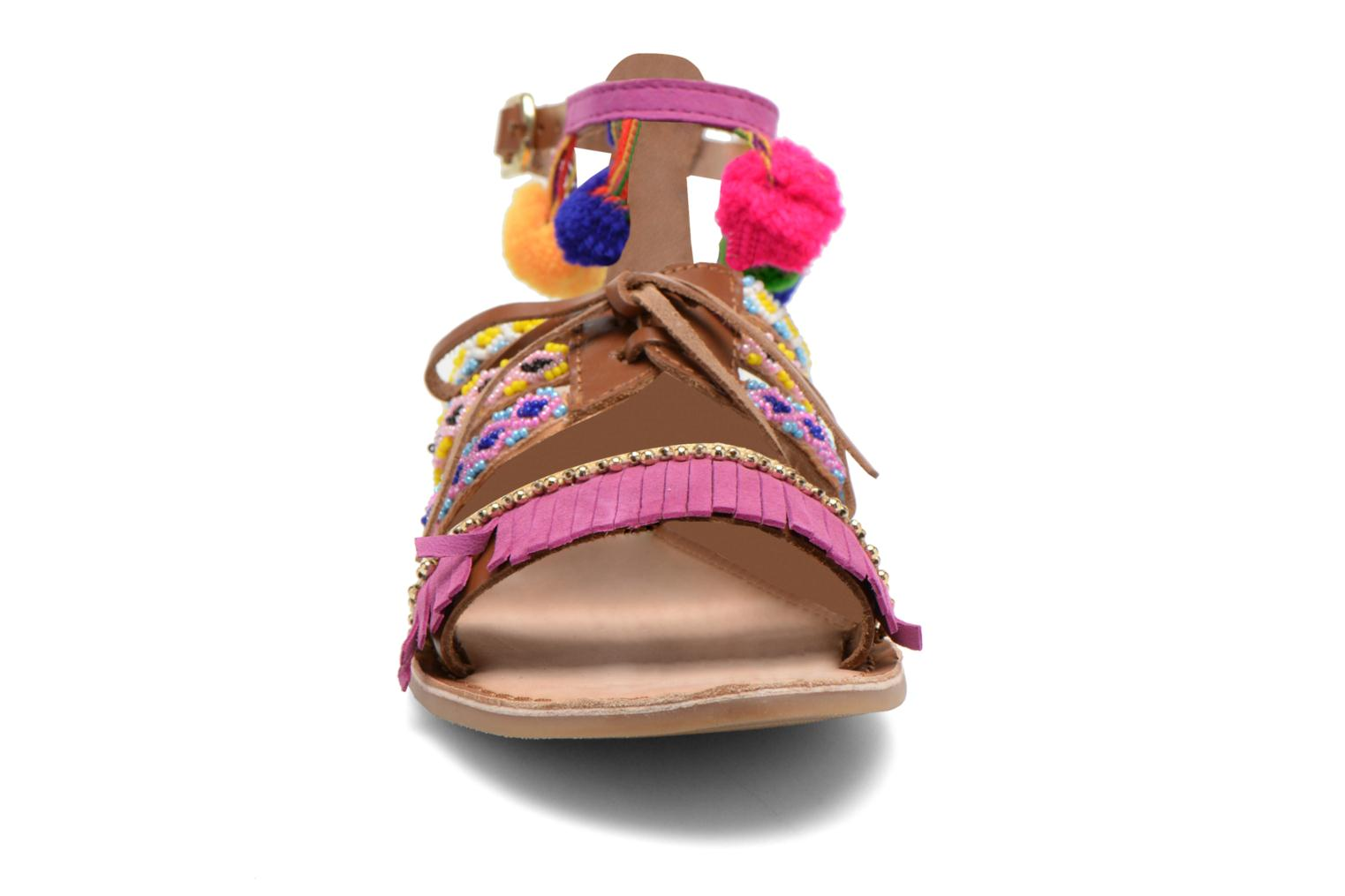 Sandals Gioseppo Sia Multicolor model view