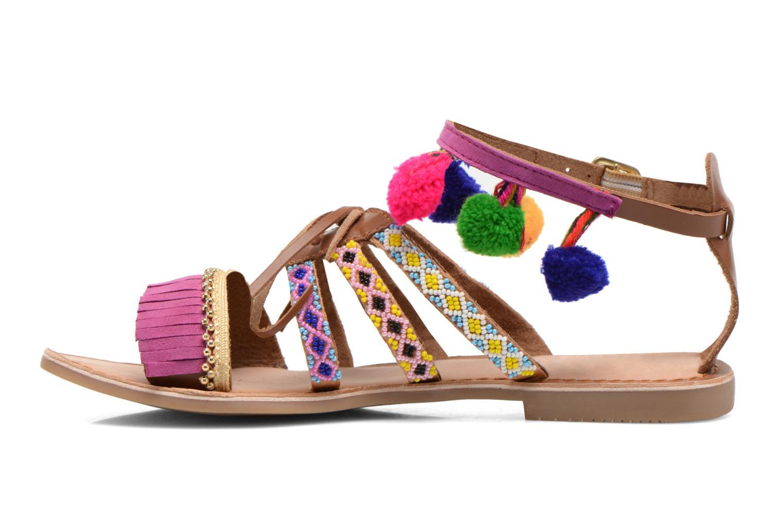 Sandales et nu-pieds Gioseppo Sia Multicolore vue face