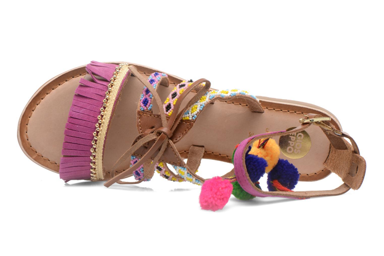 Sandales et nu-pieds Gioseppo Sia Multicolore vue gauche