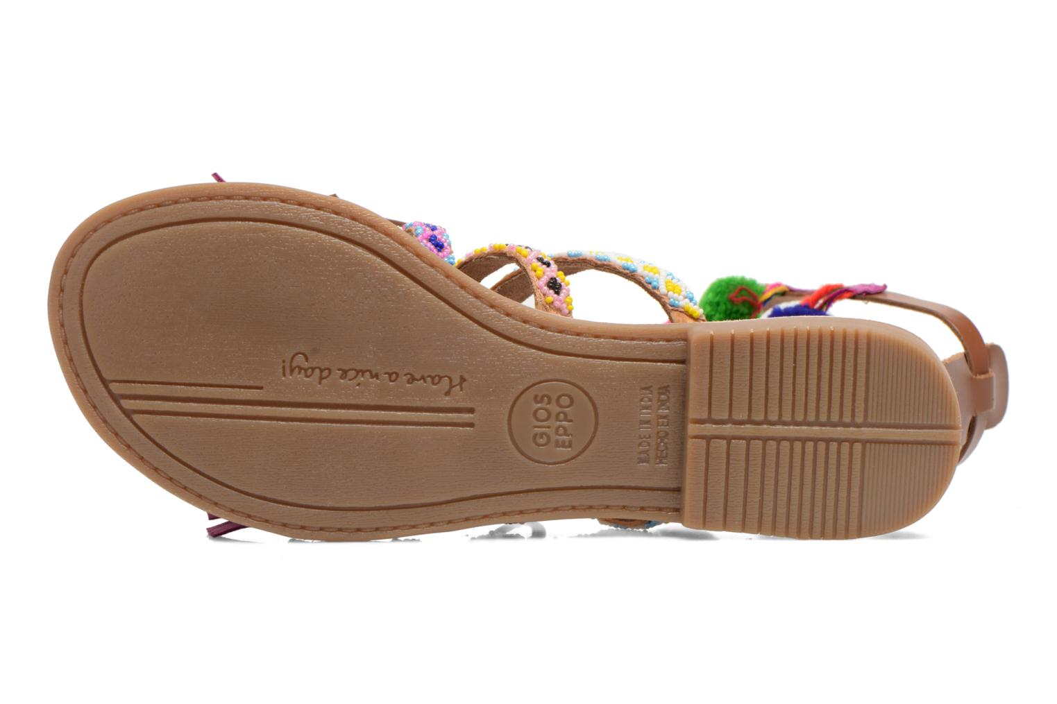 Sandals Gioseppo Sia Multicolor view from above