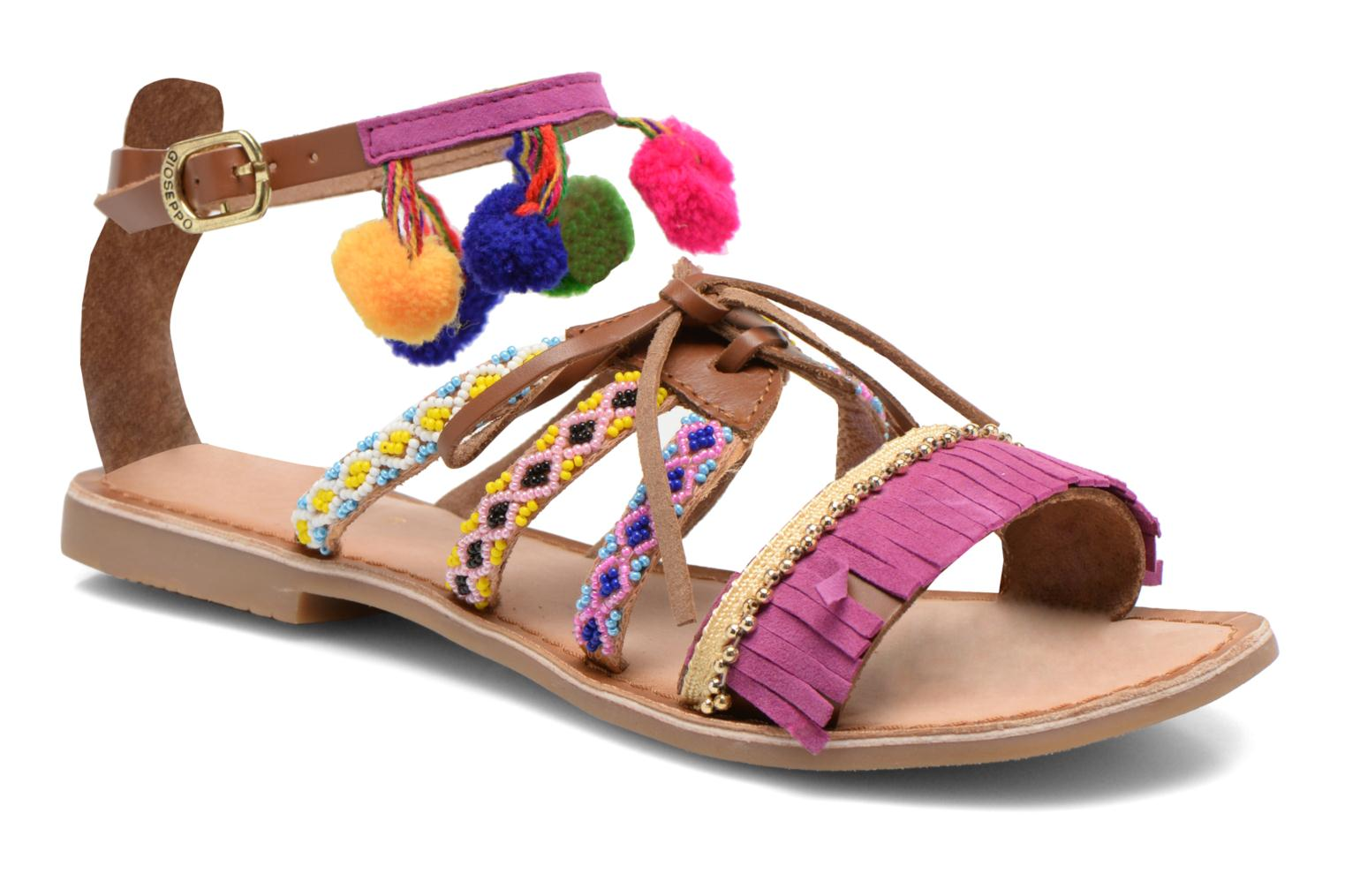 Sandals Gioseppo Sia Multicolor detailed view/ Pair view