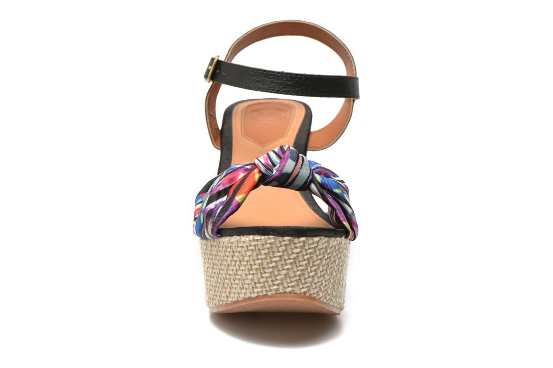 Sandales et nu-pieds Gioseppo Realeja Multicolore vue portées chaussures