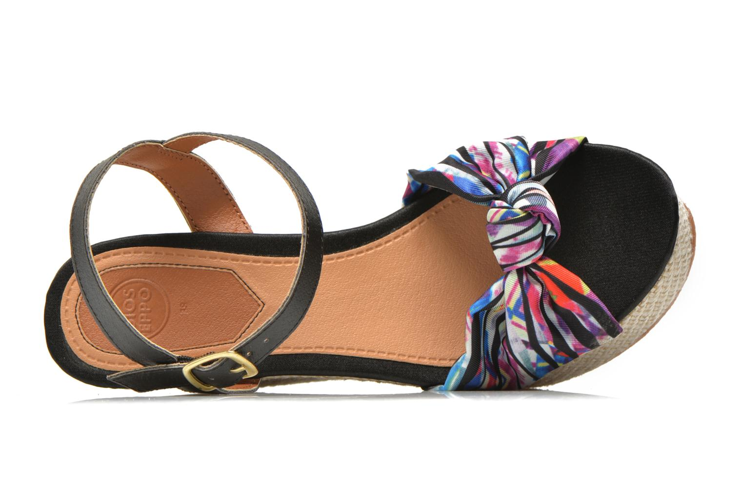 Sandals Gioseppo Realeja Multicolor view from the left
