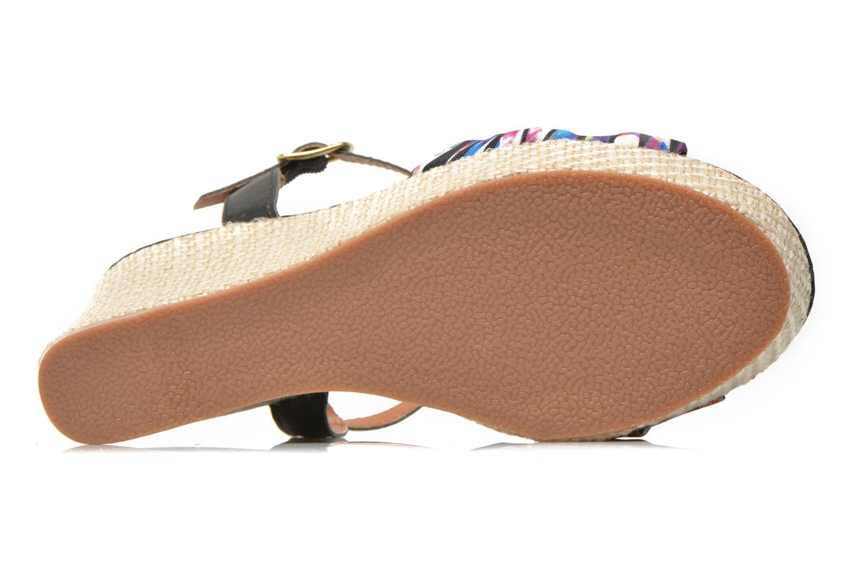 Sandales et nu-pieds Gioseppo Realeja Multicolore vue haut