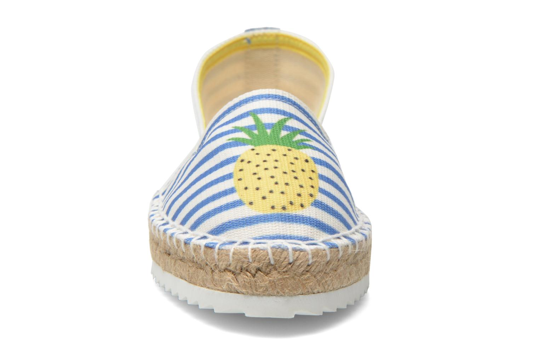Espadrilles Gioseppo Diluna Multicolore vue portées chaussures