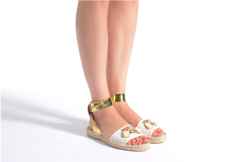 Sandali e scarpe aperte Gioseppo Zaogli Oro e bronzo immagine dal basso