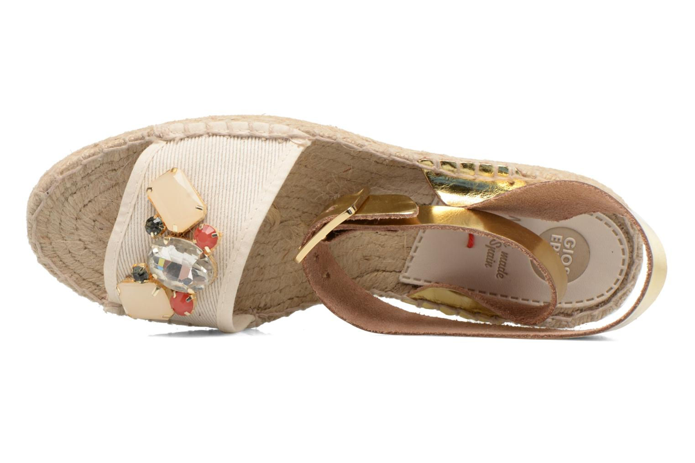 Sandali e scarpe aperte Gioseppo Zaogli Oro e bronzo immagine sinistra