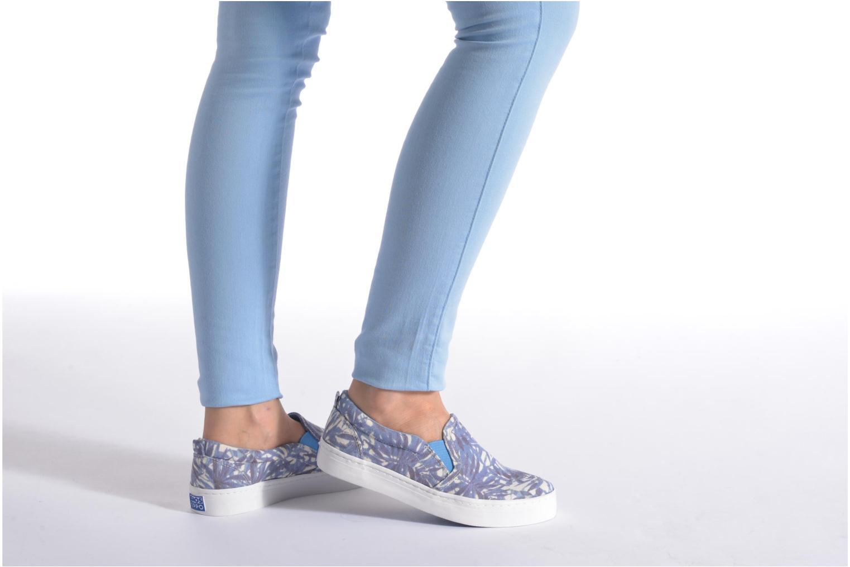 Sneaker Gioseppo Nuta blau ansicht von unten / tasche getragen