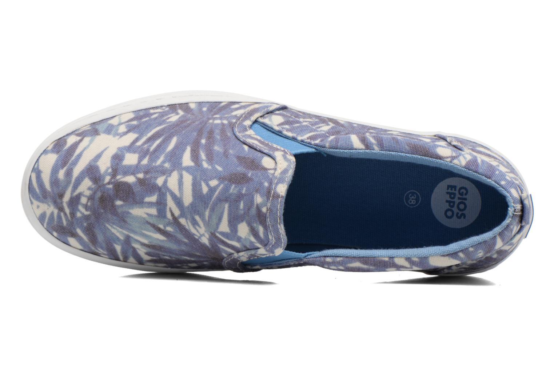 Sneaker Gioseppo Nuta blau ansicht von links