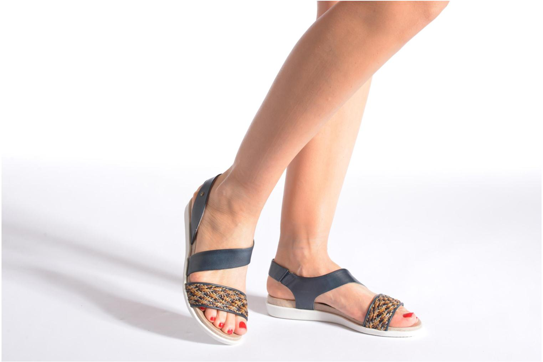 Sandales et nu-pieds Pikolinos Antillas W0H-0803 Marron vue bas / vue portée sac
