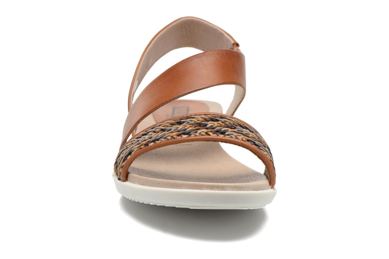 Sandales et nu-pieds Pikolinos Antillas W0H-0803 Marron vue portées chaussures