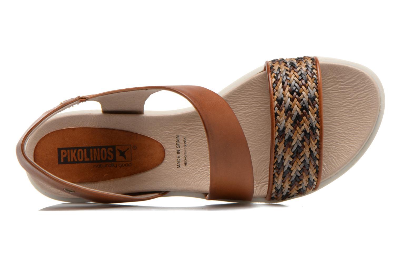 Sandales et nu-pieds Pikolinos Antillas W0H-0803 Marron vue gauche