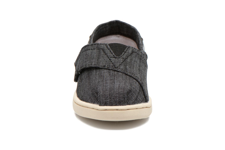 Baskets TOMS Bimini Espadrille Noir vue portées chaussures