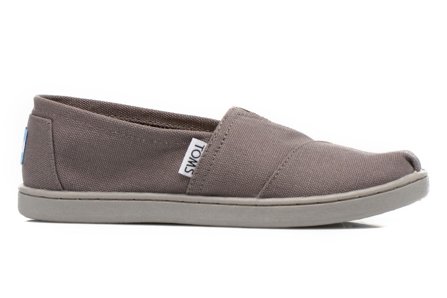 Trainers TOMS Canvas Classics Grey back view
