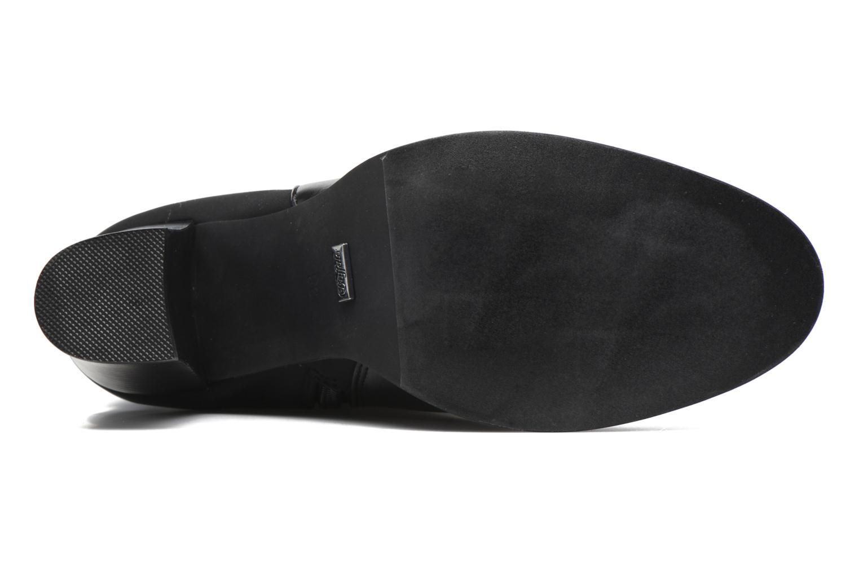 Stiefel Buffalo Naim schwarz ansicht von oben