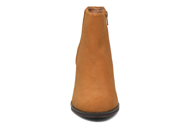 Bottines et boots Buffalo Fodol Marron vue portées chaussures
