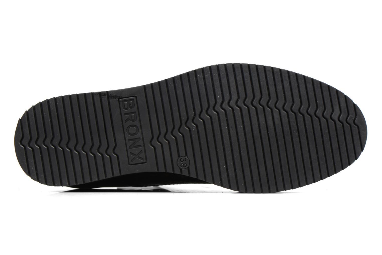 Chaussures à lacets Bronx Vino Noir vue haut