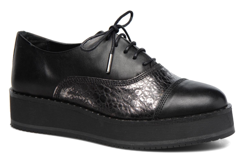 Zapatos de mujer baratos zapatos de mujer Bronx Vino (Negro) - Zapatos con cordones en Más cómodo